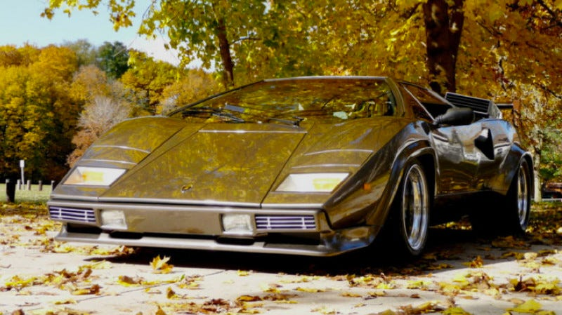 The Basement Lamborghini Is For Sale On Ebay