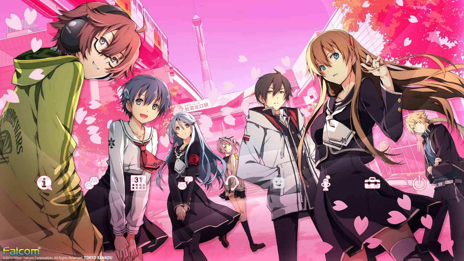 Tokyo Xanadu Confirmed for PSV (Physical) and PC (Steam) in 2017!