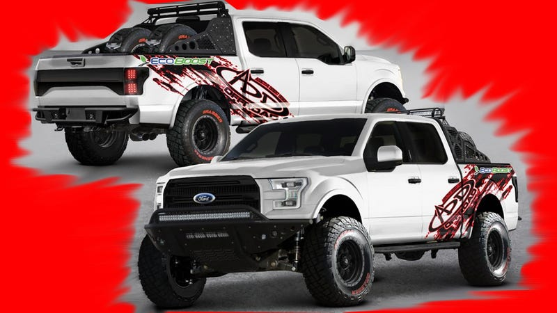 theres no 2015 ford f 150 raptor heres how to build your own for 27k