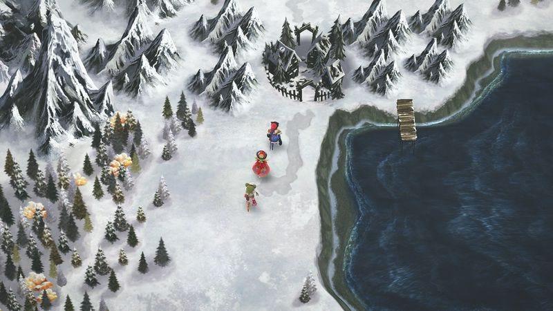 Screenshot: I Am Setsuna/Square Enix