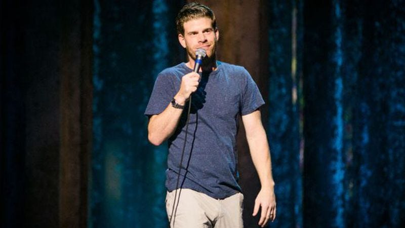 Illustration for article titled Comedy Central will still air Steve Rannazzisi's stand-up special tonight
