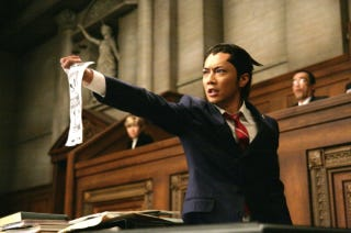 Illustration for article titled First Image of Phoenix Wright, the Handsome Japanese Movie Star