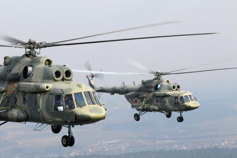 Illustration for article titled Áll a bál a Pentagon körül az orosz helikopterek miatt