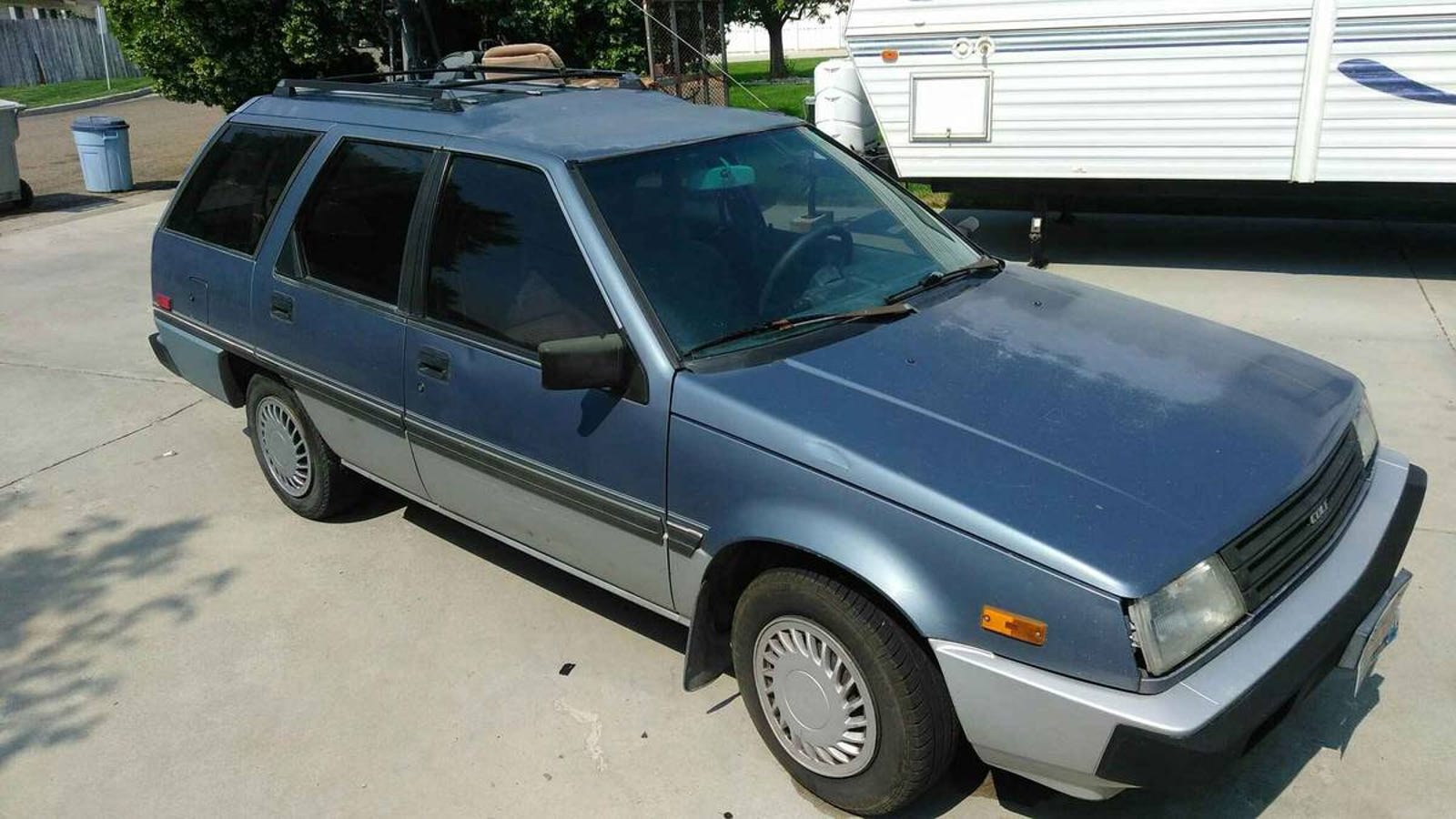 For 700 Could This 1988 Dodge Colt Wagon Be A Tlc