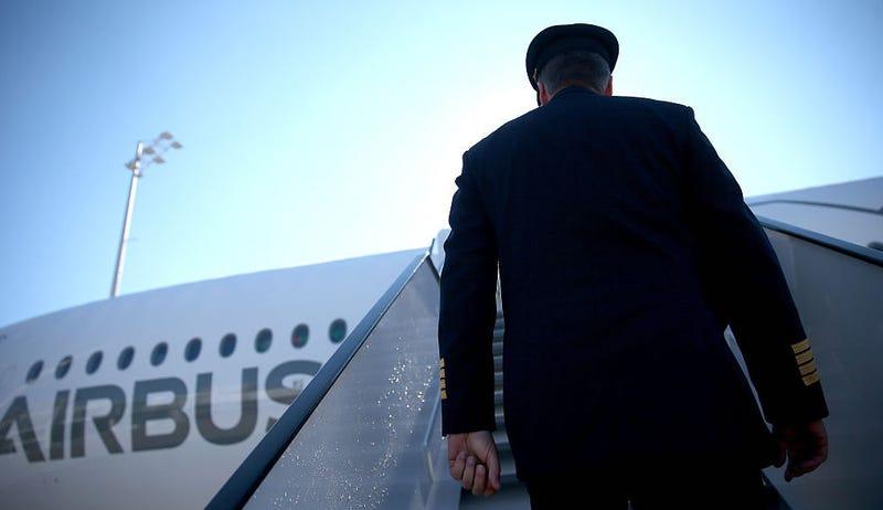 Pilot Airbus. Getty