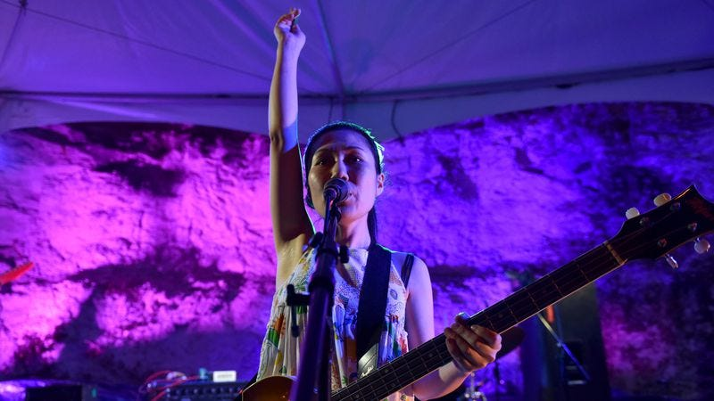 Satomi Matsuzaki of Deerhoof (Photo: Getty Images)