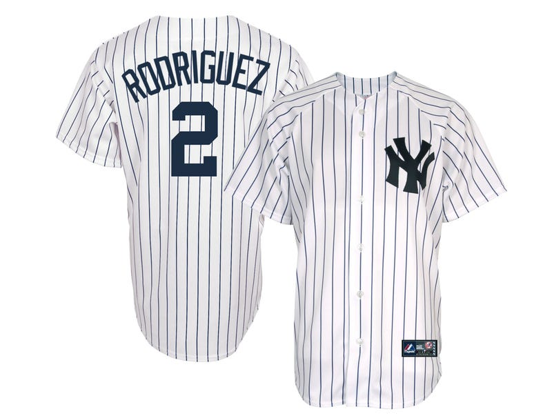 Illustration for article titled Yankees Announce A-Rod Switching To Number 2