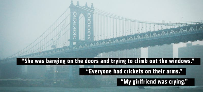 The Manhattan Bridge, photographed a few weeks ago by Getty Images. Quotes from the New York Post.
