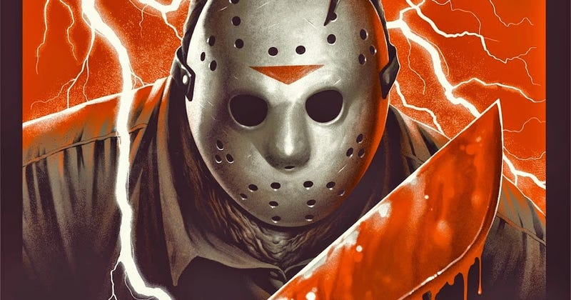 Illustration for article titled It's Friday the 13th, So Here Are a Bunch of Jason Voorhees Posters