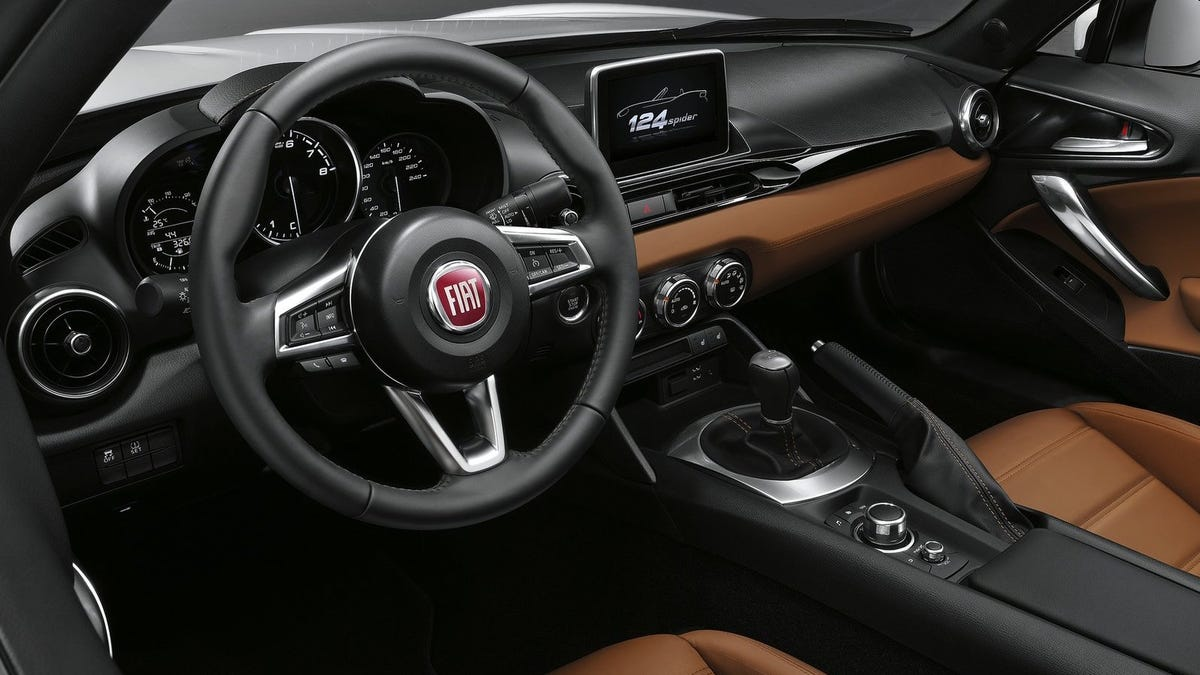 The 2017 Fiat 124 Spider Really Is Better Than The Miata