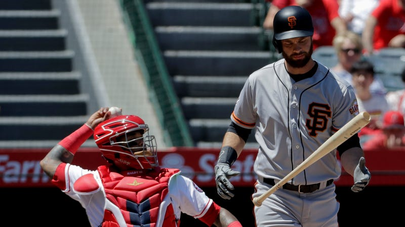 Illustration for article titled Giants' Brandon Belt Works Historic 21-Pitch Plate Appearance, To No Avail