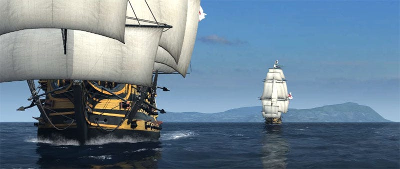 Illustration for article titled Turns Out PC Gamers Really Want To Play Games With Sailing Ships