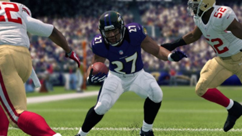 Illustration for article titled Ray Rice has also been dropped from Madden NFL 15