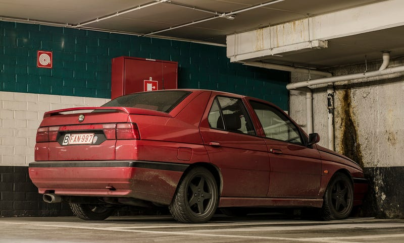 Illustration for article titled Spotted Another Alfa 155, No SR20...Again!