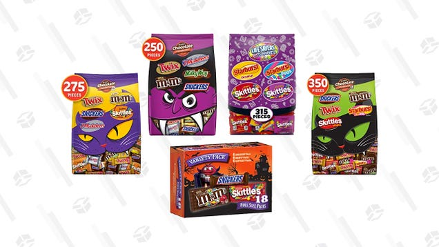 Stock Up on Halloween Candy With Todays Gold Box