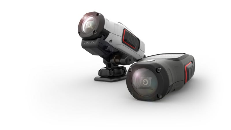 Illustration for article titled Garmin® Enters The Action Camera Market With Compact, Waterproof, Easy-To-Use HD Cameras, VIRB™ and VIRB Elite™