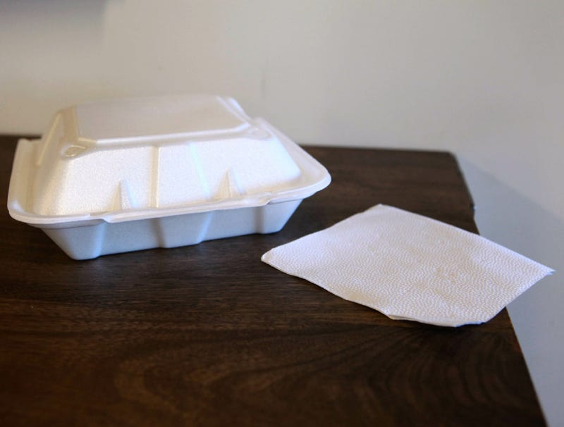 Illustration for article titled Single Napkin Accompanying Takeout Order Presumes Man Eats Anything Like Human Being