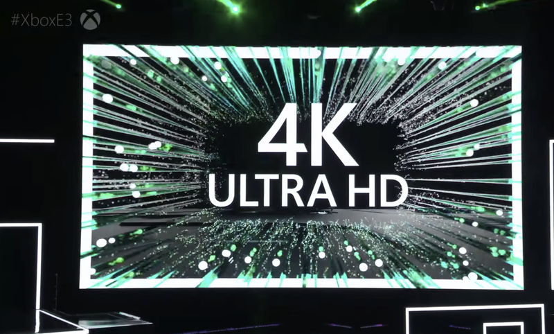 Microsoft was pretty psyched about 4K last week. Are you?