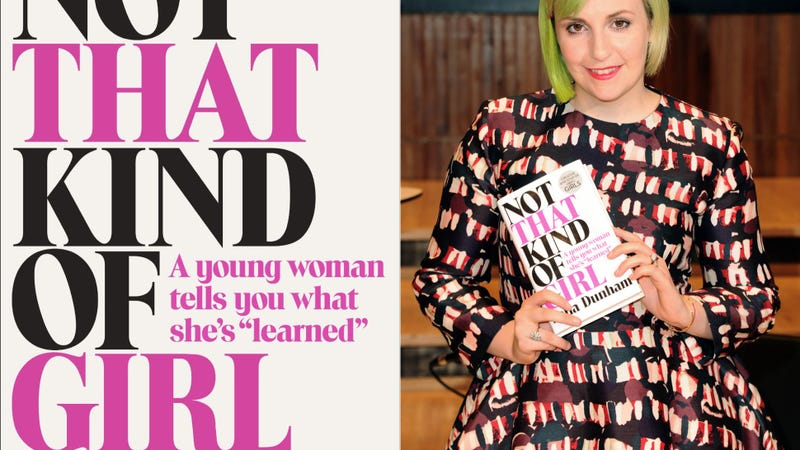 Illustration for article titled Lena Dunham's Publisher Clarifies Her Alleged Rapist's Name Is Fake