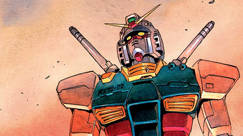 The RX-78-2 on the cover of Gundam the Origin Vol. 1