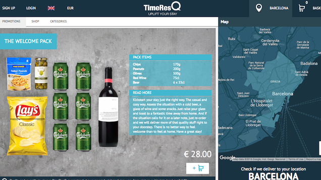 TimeResQ Saves You Time, Brings You Groceries and Supplies While You're On Vacation