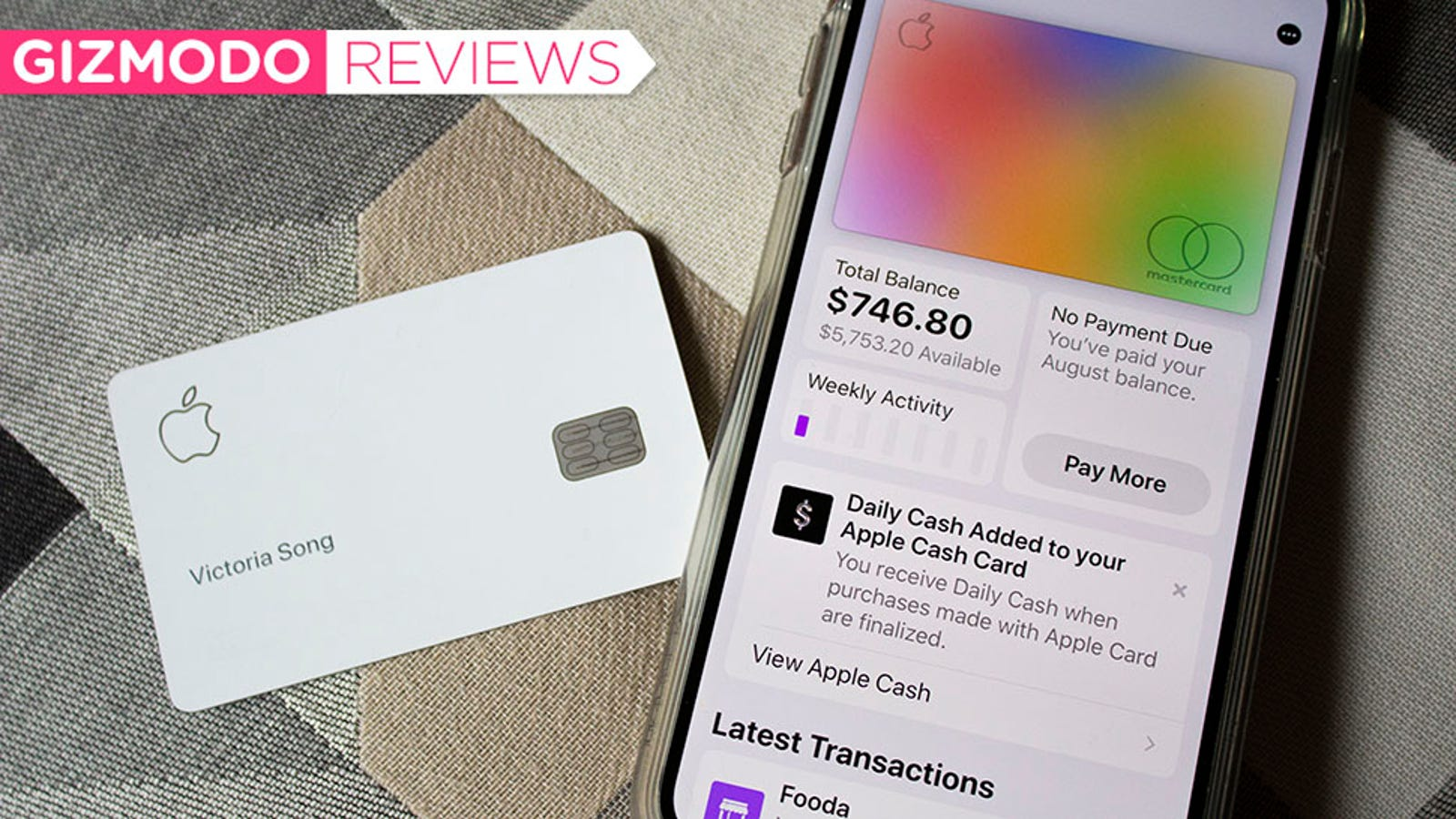 The Apple Card Won't Change Your Life—But It Will Hook You on Apple Pay