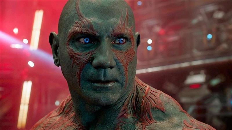 Dave Bautista as Drax.