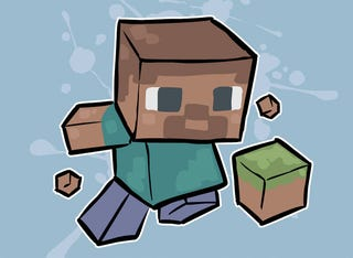 Illustration for article titled You Got A Little Minecraft In My Super Meat Boy