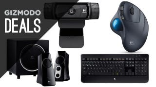 Illustration for article titled Logitech Peripherals For Everyone In Today's Amazon Gold Box