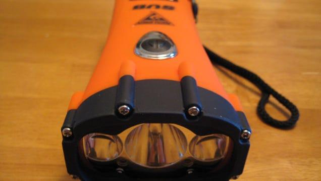 HydroStar SUB Flashlight With Dynamo-Powered LEDs, Lasers ...