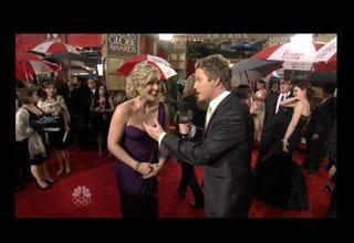 Illustration for article titled Live Blog: NBC's Golden Globes Red Carpet Coverage