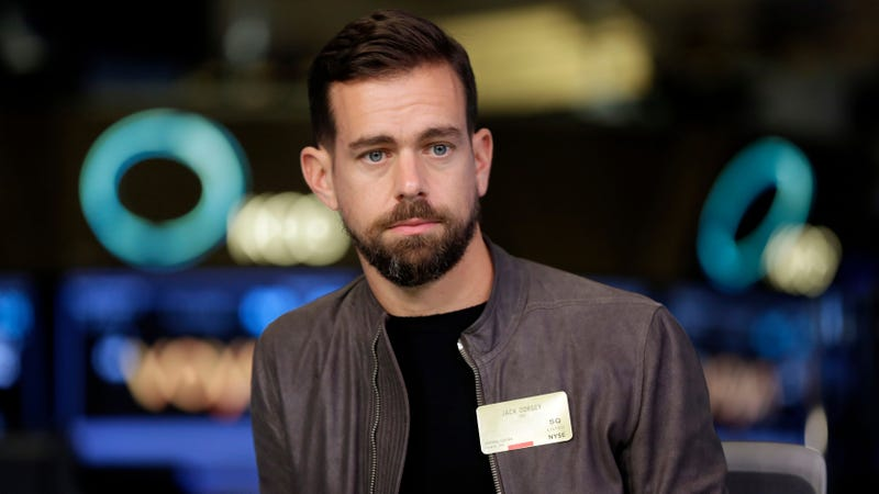 Twitter and Square CEO Jack Dorsey.