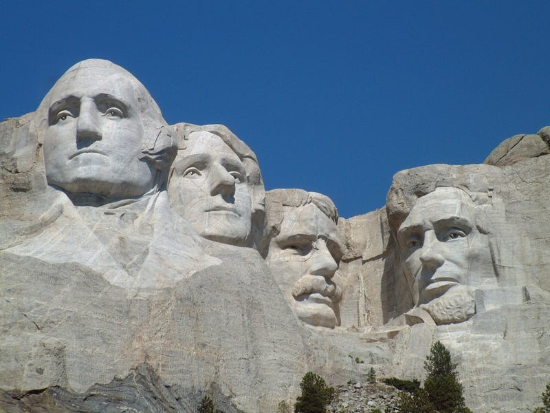 Illustration for article titled You're Building a Mount Rushmore for Gaming - Who Goes On It?