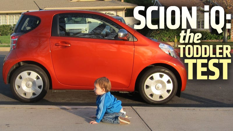 Illustration for article titled Will It Baby: 2013 Scion iQ