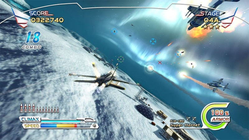 Illustration for article titled After Burner Climax Review: You Will Do A Barrel Roll