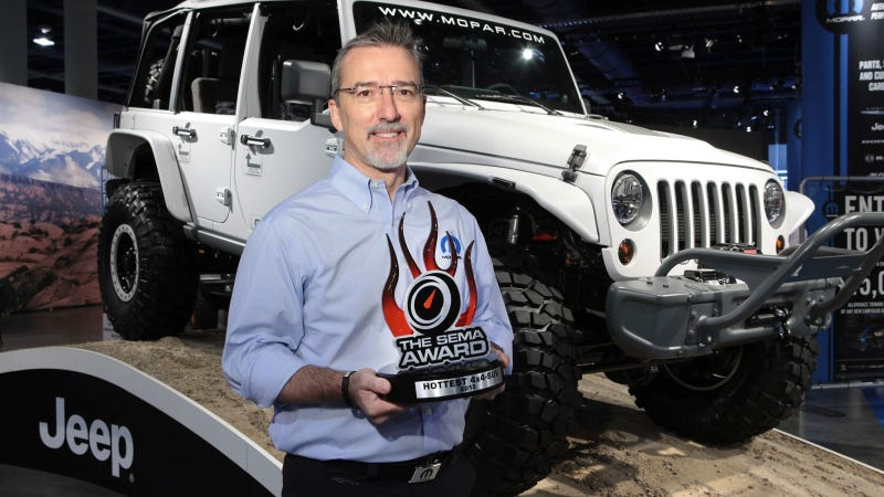 Illustration for article titled Jeep® Wrangler Named SEMA's 'Hottest 4X4-SUV' For Fourth Consecutive Year
