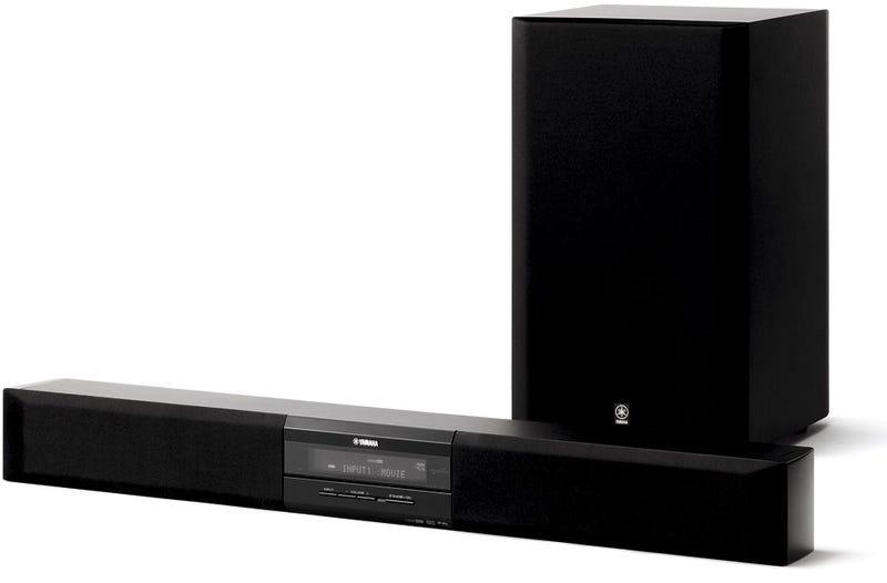 Yamaha 39 s yas 70 budget soundbar might actually fit below for Yamaha ysp 900 soundbar