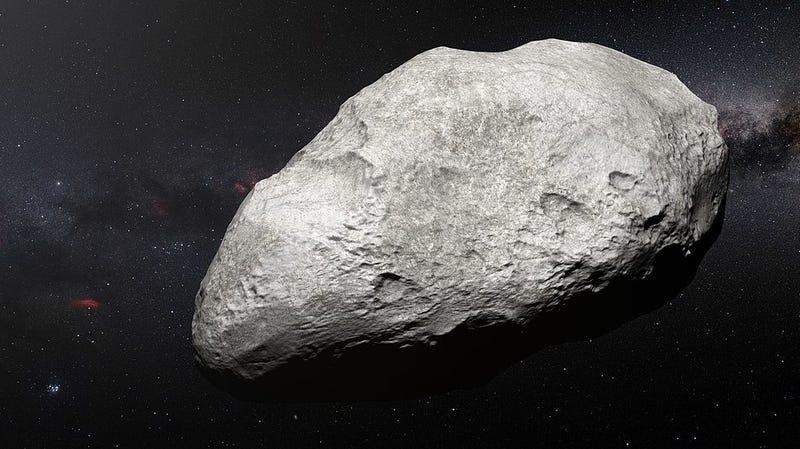 An artist's impression of a Kuiper Belt Object