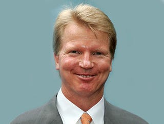 Illustration for article titled Phil Simms Mistaken For Life-Sized Cardboard Cutout Of Phil Simms