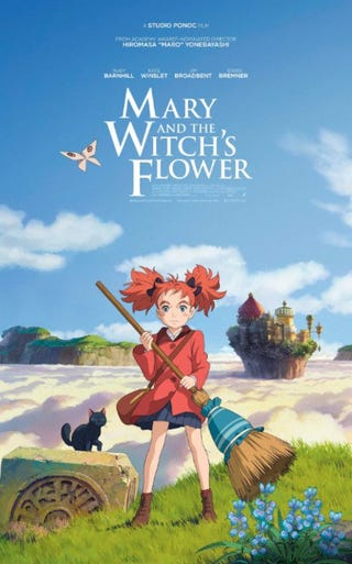 Illustration for article titled Enjoy the English Trailer ofMary and The Witch's Flower movie