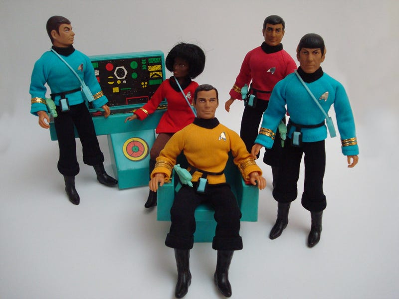Illustration for article titled The First Wave of Action Figures: From G.I. Joe to Star Trek
