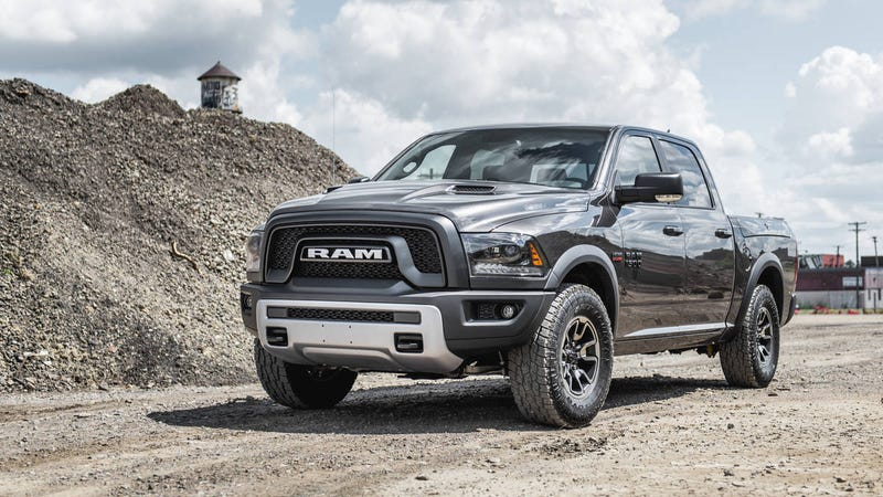 """Illustration for article titled What if """"Rebel"""" Became the New Name of Ram Trucks?"""