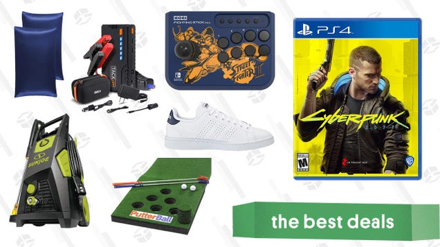 Friday's Best Deals: Cyberpunk 2077 Pre-Order, Tacklife 800A Jump Starter, Putterball Backyard Golf, Amazon Big Style Sale, and More