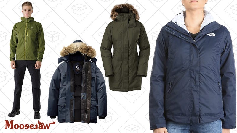 Up to 50% off jackets