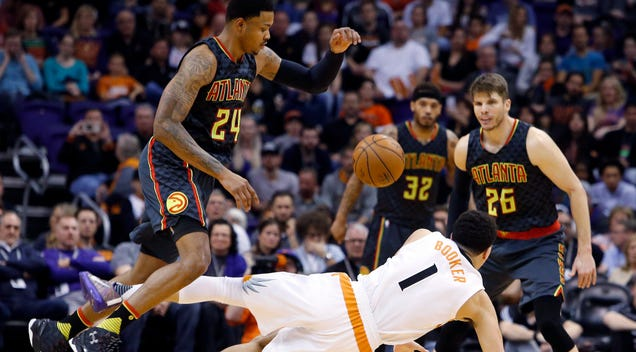 "Suns, Hawks Combine For Some ""Interesting"" ""Basketball"""