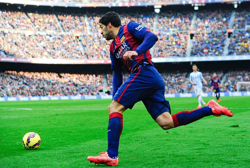 Illustration for article titled Luis Suárez Is Back And He's Coming To Devour The World