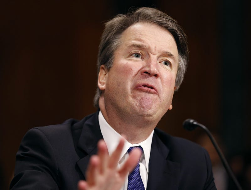 Illustration for article titled Kavanaugh: 'I Am Not Denying That Ford Was Sexually Assaulted In Some Alternate Dimension, Plane Of Existence'