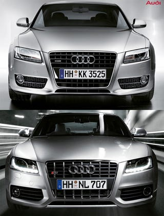 Illustration for article titled Now It's Official: Audi A5, S5 Revealed