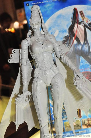 Illustration for article titled Bayonetta Figures Get The Figure Right
