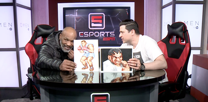 Illustration for article titled Mike Tyson Says He Just Learned About Balrog In Street Fighter II